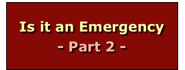 Is it an Emergency