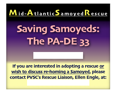 Mid-AtlanticSamoyedRescue